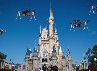News video: Disney Files Patents to Use Drones at Theme Parks