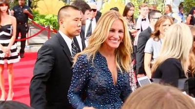 News video: Red Carpet Roundup - Emmys Stars Talk Making Out, Benedict Cumberbatch, Game of Thrones and of...